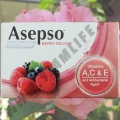 Мыло с экстрактом Ягод Asepso Berry Delight