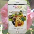 Тканевая маска с экстрактом Овощей Moods Veggies Fresh & Firm