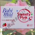 Детское мыло c маслом Ши Babi Mild Sweety Pink Plus