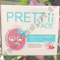 Маска для лица с Розовой Солью Prettii Face Pink Clay Mask