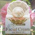 Крем для лица с Жемчужной Пудрой Facial Cream with Mineral Oil