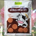 Молочные таблетки с Кальцием и Какао Roscela Malt Tablet