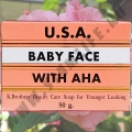 Натуральное лечебное мыло от Акне Baby Face With AHA