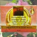 Крем-маска с Планктоном Blossy 24K Gold Lift & Shine Mask