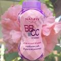 Матирующая BB и CC пудра Natriv BB & CC Powder