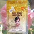 Маска для лица с Биозолотом и Жемчугом Gold Pearls Powder Mask