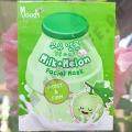 Тканевая маска с Молоком и Дыней Moods Milk+Melon Fasial Mask