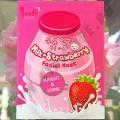 Тканевая маска с Молоком и Клубникой Moods Milk+Strawberry Mask