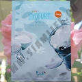 Тканевая маска с Молочным Йогуртом Yogurt Facial Mask