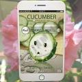Тканевая Огуречная маска для лица Moods Cucumber Moist & Mild