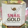 Улиточный крем с Коллагеном Snail Gold Extra Collagen & Q10