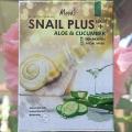 Тканевая маска c Улиткой и Алоэ Вера Moods Snail Plus+Aloe
