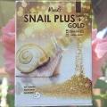 Тканевая маска c Улиткой и Золотом Moods Snail Plus+Gold