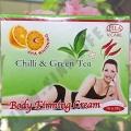 Крем для похудения с Чили и Зеленым Чаем Ella Body Firming Cream
