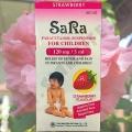 Детская суспензия с Парацетамолом Sara Paracetamol Suspension
