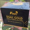 Патчи с Золотом и Муцином Улитки Moods Snail Gold Jelly Mask