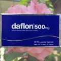Таблетки от геморроя Дафлон 500 Daflon 500 mg.