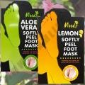 Пилинг-носочки для педикюра ступней Moods Softy Peel Foot Mask