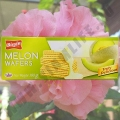Вафли со вкусом спелой Дыни Bissin Melon Wafers