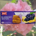 Вафли со вкусом Голубики Bissin Blueberry Wafers