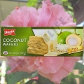 Вафли со вкусом свежего Кокоса Bissin Coconut Wafers