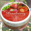 Крем для тела с Клубничным йогуртом Banna Strawberry Cream