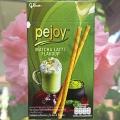 Бисквитные трубочки с чаем Матча Pejoy Matcha Latte Flavour