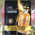 Тканевая маска для лица с Биозолотом 24K Goldzan Silk Mask