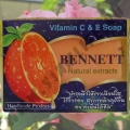 Апельсиновое мыло Bennett Vitamin C & E Soap