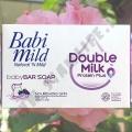 Детское мыло c Молочным Протеином Babi Mild Double Milk Soap