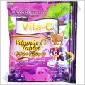 Витамин С с Виноградным вкусом Vita-C Vitamin C Tablet Grape